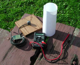 Pyranometer with multimeter