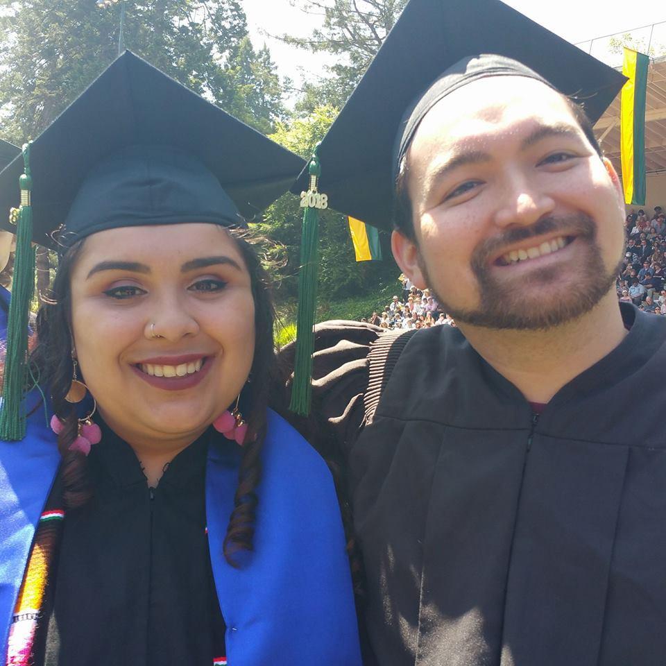 ERE 2018 Graduates Tanya Garcia and Ahron Cervania