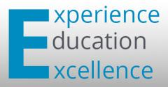 Experience Education Excellence Logo